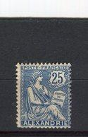 ALEXANDRIE - Y&T N° 27** - Type Mouchon - Alexandrie (1899-1931)