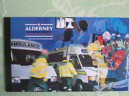 Alderney Carnet  C168A  Cote 60 Euros - Alderney