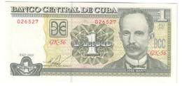 Kuba 1 Peso 2010 UNC - Cuba
