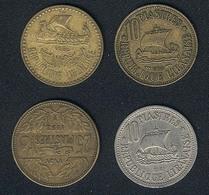 Libanon, Lot: 3 Different 10 Piastres + 25 Piastres 1952 - Lebanon