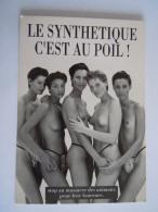 Femmes Nues Pub Ant-Fourrure Naakte Vrouwen Anti-pels - Advertising