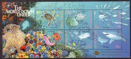 1995 - Australian World DOWN UNDER Minisheet Minature Sheet Stamps MNH Overprinted BRISBANE - Blocks & Sheetlets