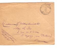 Guerre-Oorlog 14-18 Lettre FM C.PMB-BLP 19/7/16 Verso En Manuel Portraits=Photos Vu Du G.Q.G.Belge Rare S/Lettre JS265 - Army: Belgium