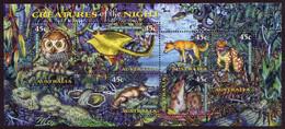 1997 - Australian CREATURES Of The NIGHT Minisheet Minature Sheet MNH - Blocks & Sheetlets