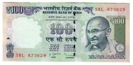 India 100 Rupees 2011 AUNC - 1 Pin Hole - India