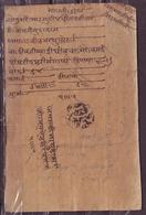 "India-Jaipur State Samvat 1996 ""Roznama"" Daily Report Document #DPC63C - Old Paper"