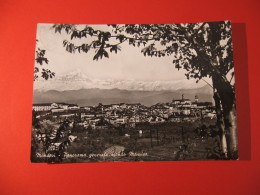 CARTOLINA  MONDOVI' PANORAMA GENERALE SFONDO  MONVISO     -   B -  2454 - Cuneo