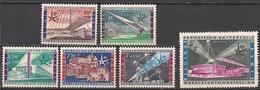 Belgien  (1958)  Mi.Nr.  1094 - 1099  ** / Mnh  (2fa15) - Belgien