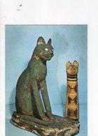 U2810 Cartolina Con Arte Egizia - Sarcofago Di Legno E Mummia Di Gatto, Museo Egizio Di Torino + TIMBRO SOPRAINTENDENZA - Articles Of Virtu