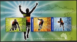 2006 - Australian COMMONWEALTH GAMES Minisheet Minature Sheet MNH - Blocks & Sheetlets