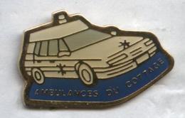 Pin's Ambulance Voiture Citroën - Citroën