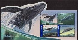 2006 - Australian WHALES DOWN UNDER Minisheet Minature Sheet MNH - Blocks & Sheetlets