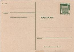 Postkarte Ganzsache Deutsche Bundespost Post Briefmarke 20 Pfennig DM Mark Lörsch Hessen Stempel Heimatsammler - BRD