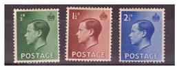 GRAN BRETAGNA - 1936 - EFFIGIE DI RE EDOARDO VIII. - MH* - 1902-1951 (Re)