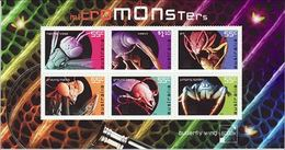 2009 - Australian MICRO MONSTERS Minisheet Minature Sheet MNH - Blocks & Sheetlets