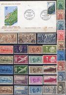 FRANCE Et AFRIQUE ! LETTRE 1er JOUR Et Timbres De Martinique Depuis 1920 - Mauritanie (1906-1944)