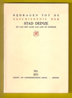 ©1974 BIJDRAGEN TOT DE GESCHIEDENIS DER STAD DEINZE EN HET LAND AAN LEIE EN SCHELDE 127blz Heemkunde ANTIQUARIAAT Z459 - Deinze