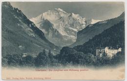 Interlaken Die Jungrau Vom Höhenweg Gesehen - BE Berne