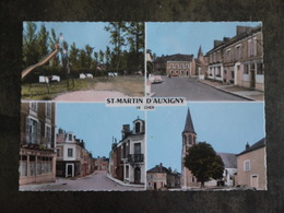 ST MARTIN D AUXIGNY SAINT MULTIVUES  MULTI VUES TIMBRE 1 000 000  HA REBOISE - Autres Communes