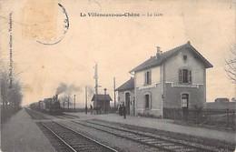 LA VILLENEUVE AU CHÊNE - La Gare - Aube - 10 - Frankreich