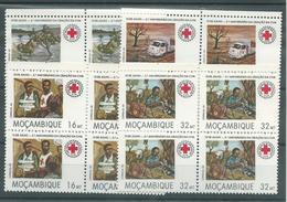 180029081  MOZAMBIQUE  YVERT  Nº  916/9  **/MNH - Mozambique