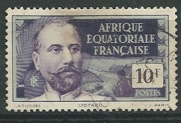 Afrique Equatoriale Française   - Yvert N°  61  Oblitéré   - Ad 37031 - A.E.F. (1936-1958)