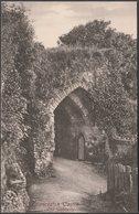 Old Gateway, Launceston Castle, Cornwall, C.1905 - Frith's Postcard - England