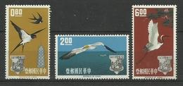 TAIWAN  1963  BIRDS  SET  MNH - Non Classés