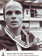 1980 Moscow Olympic XXIII Olympic Medals -  Small-sword - ( Fotó 17,3 X 12,3 Cm ) - Sports