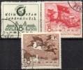 EXPO Industrie/Verkehr 1958 China 402/4 O 4€ Drache Reitet Auf Wolken Pegasus-Gespann Industry Set Of Chine CINA - 1949 - ... République Populaire