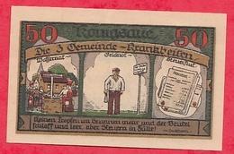 Allemagne 1 Notgeld 50 Pfenning Königsaue  Dans L 'état Lot N °1848 - [ 3] 1918-1933 : République De Weimar