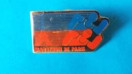 Pin's   MARATHON DE PARIS - Athletics