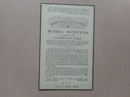 D.P.-MARIA MERTENS °GHEEL 30-7-1858+OLMEN2-3-1937 - Religión & Esoterismo