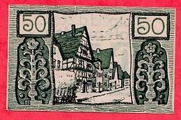 Allemagne 1 Notgeld   50 Pfenning Holzmingen  Dans L 'état Lot N °1861 - Collections