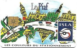 @+ Carte à Puce De Parking : Piaf De Lille 200U - M59010112 - Francia