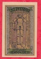 Allemagne 1 Notgeld   50 Pfenning Gernrode  Dans L 'état Lot N °1870 - [ 3] 1918-1933 : République De Weimar