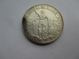 Belgique 50 Francs 1935 Wereldtentoonstelling FR - 08. 50 Frank