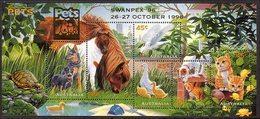 1996 - Australian PETS Minisheet Minature Sheet MNH Overprint SWANPEX - Blocks & Sheetlets