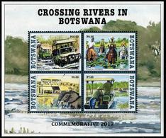 Botswana 2017 - Jeep, éléphants, Chevaux, Rivières Du Botswana - BF  Neufs // Mnh - Botswana (1966-...)
