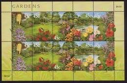 2000 - Australian GARDENS Sheetlet Stamps MNH - Blocks & Sheetlets