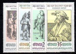 476 490 - BULGARIA 1979 , Serie 2467/2470  ***  MNH - Bulgaria