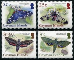 CAYMAN 2017 - Faune, Insectes, Papillons - 4 Val Neufs // MNH - Iles Caïmans