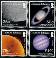 CAYMAN 2017 - Astronomie, Planètes - 4 Val Neufs // MNH - Iles Caïmans
