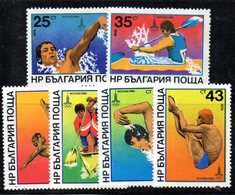 481 490 - BULGARIA 1979 , Serie 2518/2523  ***  MNH Mosca - Bulgaria