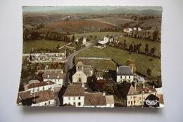 CPSM 15 CANTAL FREIX ANGLARDS. Vue Aérienne, Le Bourg. - France