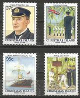 Christmas Island - 1988 British Annexation MNH **    Sc 214-7 - Christmas Island