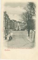 Aachen; Kaiserplatz Von Der Heinrichsallee Aus Gesehen - Nicht Gelaufen. (H.G.) - Aachen