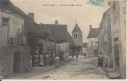 D89 - ACCOLAY - ROUTE DE BAZARNES - (CARTE ANIMEE) - Other Municipalities