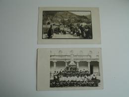 Equateur  1930 Lot 2 Carte Photo Photographie Animation - Equateur