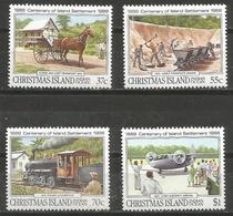 Christmas Island - 1988 Permanent Settlement MNH **    Sc 218-21 - Christmas Island